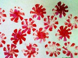 Pretty Poinsettias by Barbara