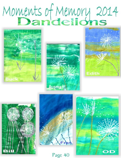 MOM gallery 40 Dandelions for web