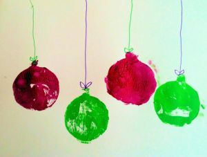 Holiday Ornaments by Agatha
