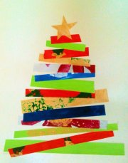 Paper Palette Holiday Tree