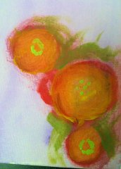 Water color on canvas Arbors Jeanette