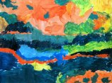 Fall color by Alice acrylic