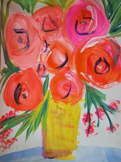 Acrylic by Louise, Harriet and Gayla