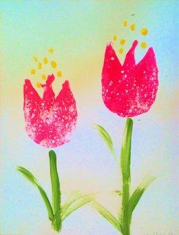 Artown 3 tulips