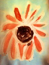 AT SE water color resist Sunflower