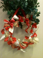 Summit Estates ribbon wreath