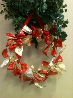 Summit Estates ribbon wreath