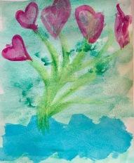 Heart Bouquet by Harriet