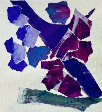 Purple Lightning by Teresa