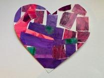 Purple Tumbles by Pat B.